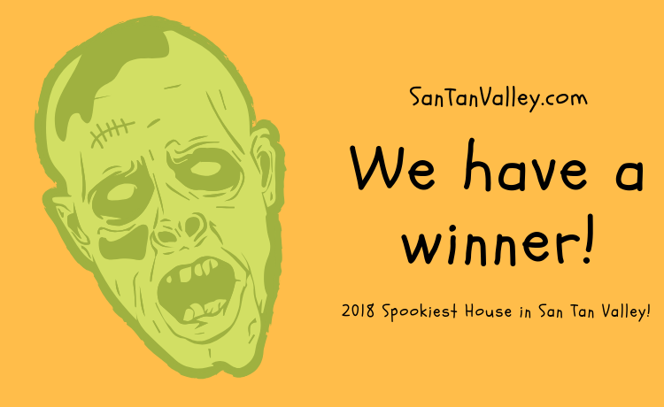 Congratulations to the McGowen Family - 2018 Spookiest House in San Tan Valley (2)