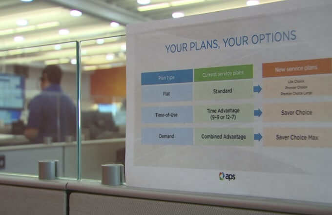 New changes coming to APS customer billing plans