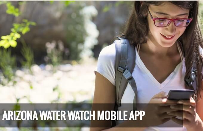 As the monsoon pours down, open this Smartphone App to help protect Arizona waterways