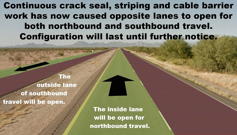 Lane Changes for Ironwood Travel