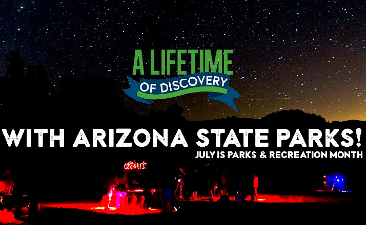 Arizona State Parks & Trails has You Covered  for Summer Vacation!